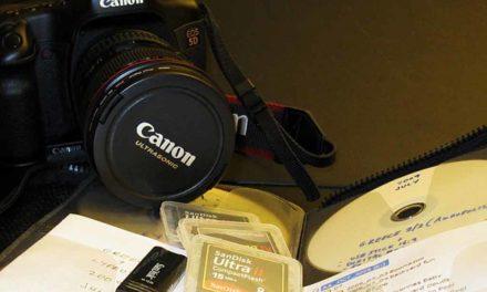 Storing digital photos – A Workflow