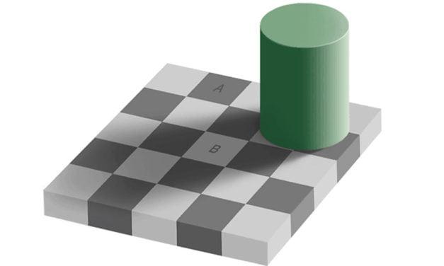 Magic Squares optical illusion